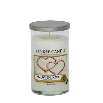 Moyenne Colonne Snow In Love / Amour D'hiver Yankee Candle