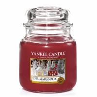 Moyenne Jarre Christmas Magic / Magie De Noël Yankee Candle