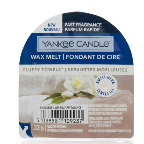 Fondant de cire Fluffy Towels / Serviette Moelleuse Yankee Candle