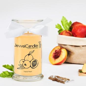 Bougie Avec Bracelet Parfum Tropical Peach Jewel Candle
