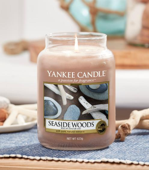 Seaside woods yankee candle