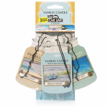 Car Jar Beach Vacation™ X3 Yankee Candle