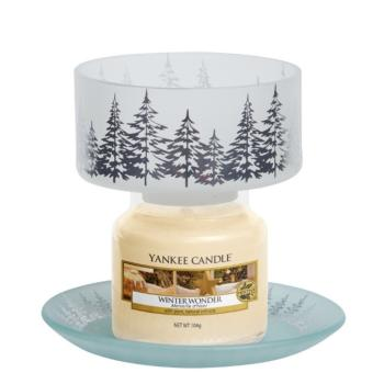Petit Abat-Jour + Plateau Winter Trees Yankee Candle