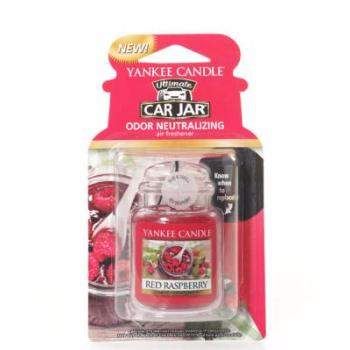 Ultimate Car Jar Red Raspberry Yankee Candle