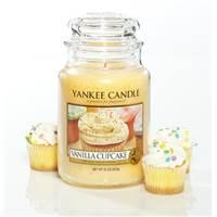 yankee candle grande jarre vanilla cupcake g teau vanille. Black Bedroom Furniture Sets. Home Design Ideas