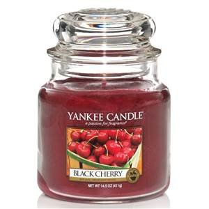 Moyenne Jarre Black Cherry / Griotte Yankee Candle