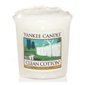 Votive Clean Cotton / Coton Frais Yankee Candle