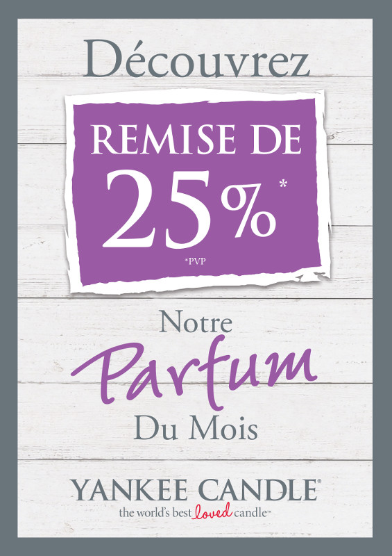 promo du mois yankee candle