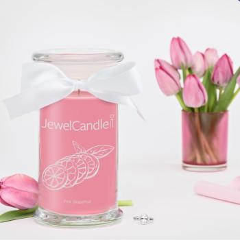 Pink Grapefruit (Bague Taille S) Jewel Candle