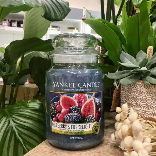 Grande Jarre Mulberry & Fig Delight Yankee Candle