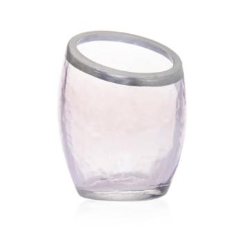 Photophore Pour Votive Pearlescent Crackle Mauve Yankee Candle