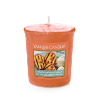 Bougie Votive Grilled Peaches & Vanilla / Pêches grillées & vanille Yankee Candle
