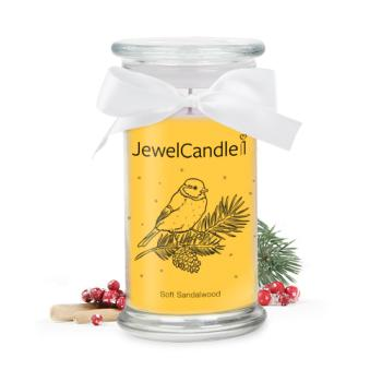 Soft Sandalwood (Bague Taille S) Jewel Candle