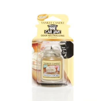 Ultimate Car Jar Vanilla Cupcake Yankee Candle