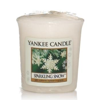 Votive Sparkling Snow Yankee Candle
