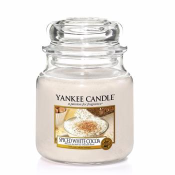 Moyenne Jarre Spiced White Cocoa Yankee Candle