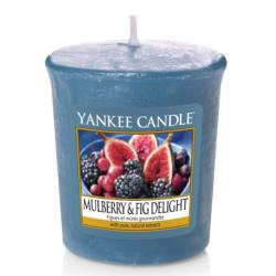 Bougie Votive Mulberry & Fig Delight Yankee Candle