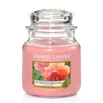 Moyenne Jarre Sun-Drenched Apricot Rose Yankee Candle