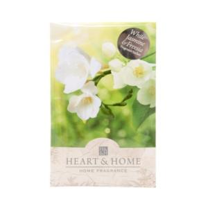 Pochette Parfumée Freesia Et Jasmin Blanc Heart And Home