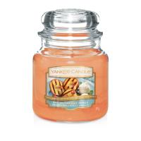 Moyenne Jarre Grilled Peaches & Vanilla / Pêches grillées & vanille Yankee Candle