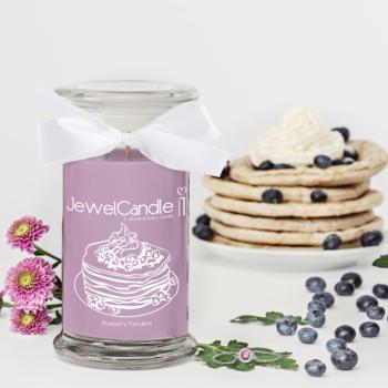 Blueberry Pancakes (Bracelet) Jewel Candle