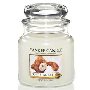Moyenne Jarre Soft Blanket / La Couverture Douce Yankee Candle