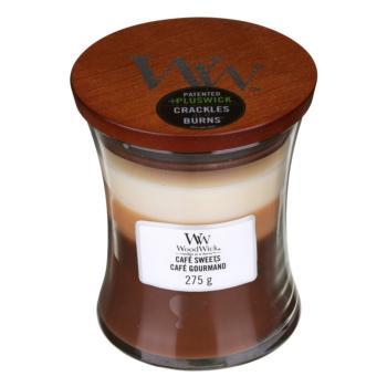 Woodwick Mini Hourglass Cire Fondre-Vanille Bean