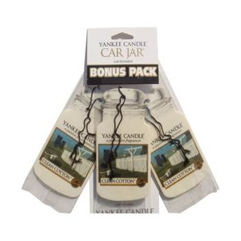 Car jar Clean cotton x3