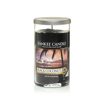 Moyenne Colonne Black Coconut Yankee Candle