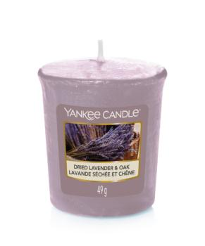 Bougie Votive Dried Lavender & Oak Yankee Candle