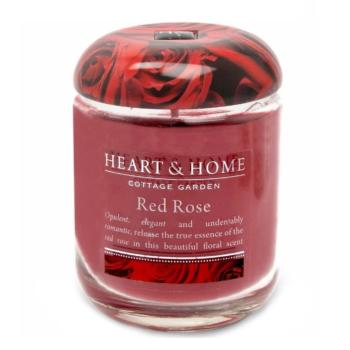Grande Jarre Rose rouge Heart And Home