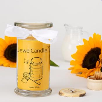 Honey & Milk (Bague Taille S) Jewel Candle