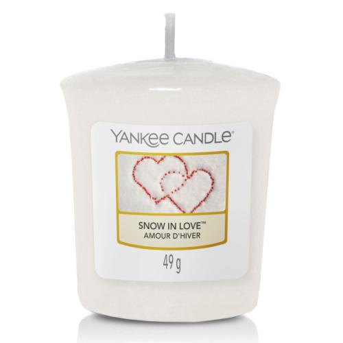 Votive Snow In Love / L'amour D'hiver Yankee Candle