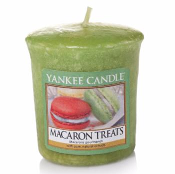 Bougie Votive Macaron Treats / Macarons Gourmands Yankee Candle