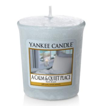 Bougie Votive A Calm & Quiet Place / Havre De Paix Yankee Candle