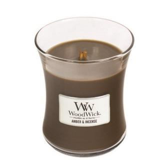 Moyenne Jarre Amber & Incense / Ambre & encens Woodwick