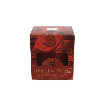 Bougie Votive Rose rouge Heart And Home