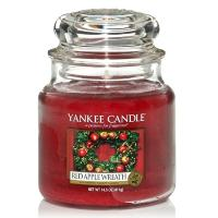 Moyenne Jarre Red Apple Wreath Yankee Candle