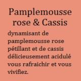 Pamplemousse rose & Cassis