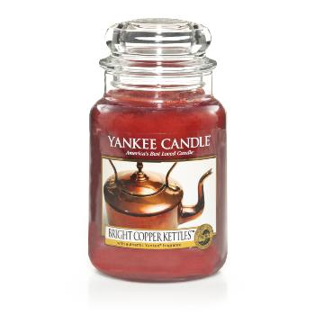 Grande Jarre Bright Copper Kettles ( Exclu Us ) Yankee Candle