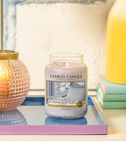 A Calm And A Quiet Place yankee candle
