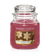 Moyenne Jarre Glittering Star / Etoile scintillante Yankee Candle