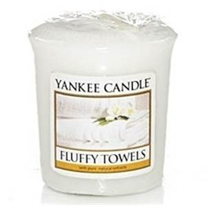 Votive Fluffy Towels / Serviette Moelleuse Yankee Candle
