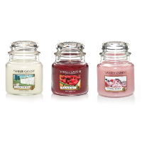 moyennes jarres yankee candle
