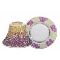 Grand Abat-jour + Plateau Purple & gold