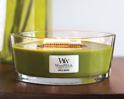 woodwick bougies ellipses m che en bois. Black Bedroom Furniture Sets. Home Design Ideas