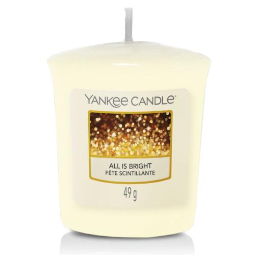 Bougie Votive All Is Bright / Fête Scintillante Yankee Candle