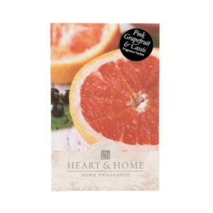 Pochette Parfumée Pamplemousse Rose & Cassis Heart And Home