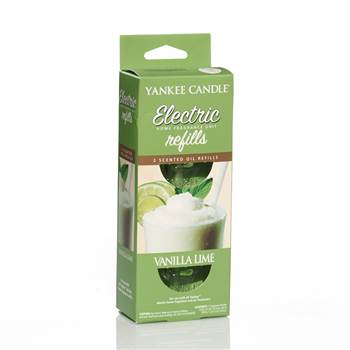 Recharge Pour Prise Vanilla Lime Yankee Candle