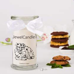 Cookies & Cream (Bague Taille L) Jewel Candle